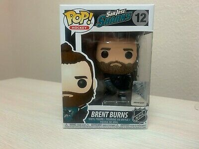 Funko Pop Hockey 12 21348 Bret Burns Home Jersey