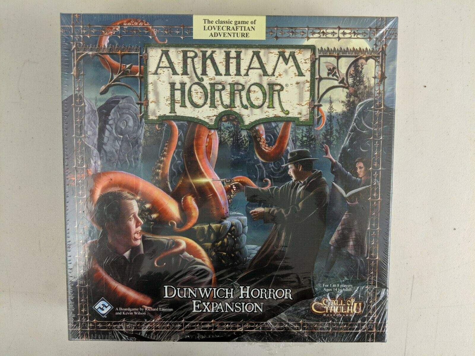 Arkham Horror Dunwich Horror Expansion Board Game NEW SEALED Out of Print