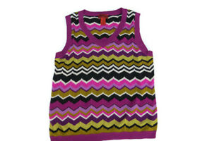 Missoni Target Trending Ærmeløs For Colors Chevron Vest Xl Spring Sweater FPFqarxw