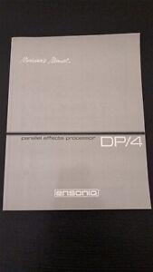 Ensoniq-DP4-Manuals-MINT-CONDITION