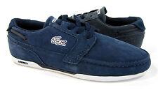 LaCoste Shoes Dreyfus CIW SPM Suede Navy Blue Sneakers Size 7 EUR 39.5