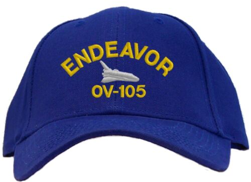 Available in 7 Colors Hat Space Shuttle Endeavor Embroidered Baseball Cap