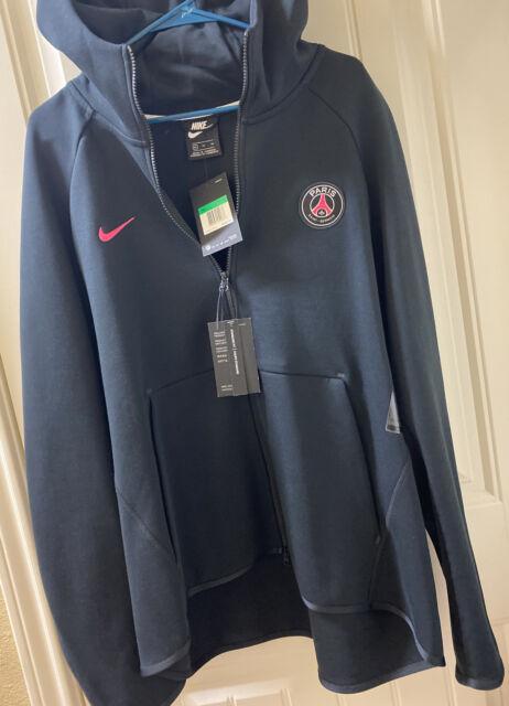 Hacer un muñeco de nieve manual Saga  Nike Paris Saint-germain PSG Tech Fleece Training Jacket Black (m) Ah5204  010 for sale online   eBay