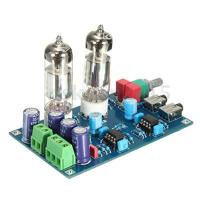 Class A 6J5 Vacuum Tube Preamp Preamplifier HIFI Headphone Amplifier DIY Kit