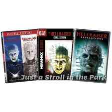 Hellraiser: Complete Movies Series 1 2 3 4 5 6 7 8 9 Box / DVD Set(s) NEW!