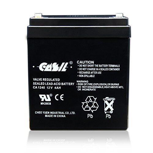 Honeywell Casil Replacement CA631 6V 3.1Ah SLA Battery for 7845GSM-K14139
