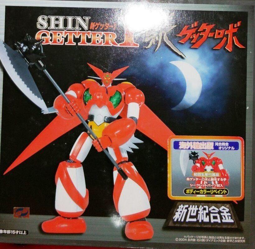 Aoshima Soul of Chogokin Shin Getter 1 Japan Export Ver Coloree Normal SG-06 nuovo