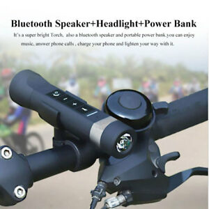 Multi-function-Bluetooth-Speaker-Flashlight-Torch-Bike-lamp-Power-Bank-FM-ZHM