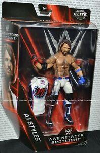 Mattel-WWE-Wrestling-Elite-Collection-Network-Spotlight-Series-Figure-AJ-Styles