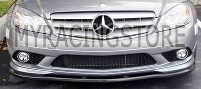 Carbon Fiber Front Lip Spoiler For Mercedes Benz W209 CLK350 Coupe 2006UP m064