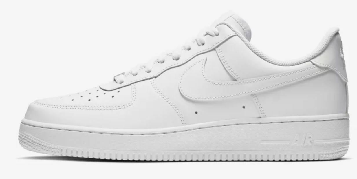 Nike Air Force 1 '07  White White  Women's Trainers shoes Limited Stock UK 9.5