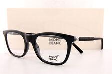 Brand New MONT BLANC Eyeglass Frames 0610 610 005 Black for Men Women