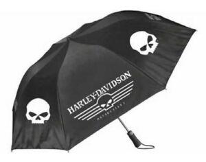 HD-Harley-Davidson-Regenschirm-034-Skull-Linear-034-UMB119988