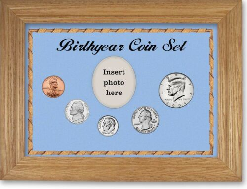 Framed Birth Year Coin Gift Set For Boys 2004