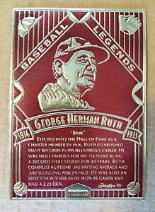 Babe-Ruth-MLB-Baseball-034-Legendary-Foils-034-PROMO-Foil-Card-with-original-envelope