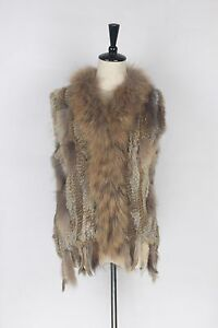 Hot-Sale-Real-Knit-Rabbit-Fur-With-Raccoon-Fur-Collar-Vest-Gilet-Fur-Lady-Coat