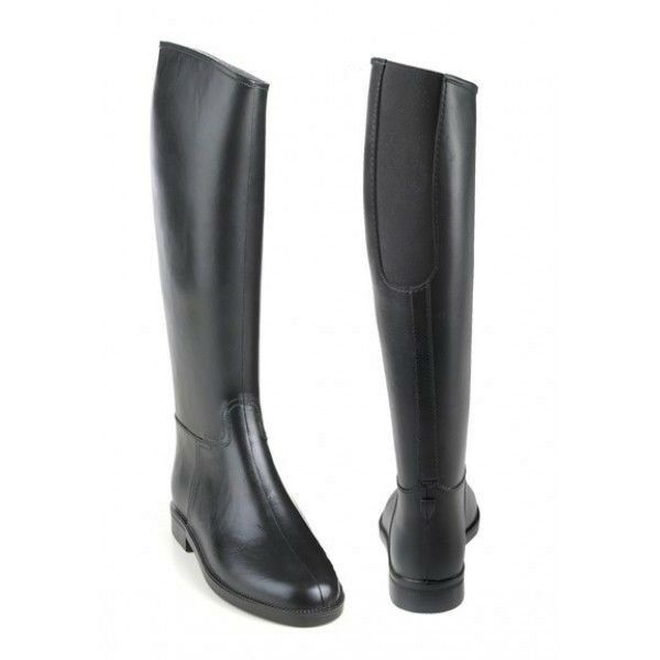 d12660a92f68b4 Equistar Cadet Flex II Ladies Rubber Tall Riding Boot with Elastic Insert