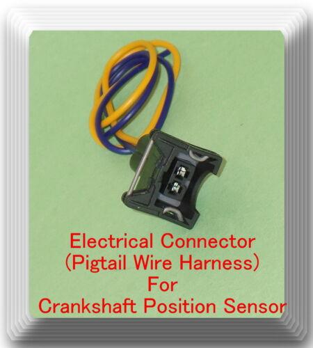 Crankshaft Position Sensor W//Electrical Connector Fits 2000-2011 Hyundai Accent
