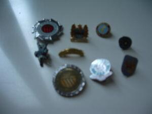 Bundle 10 Manchester City Pin Badges And Keyring