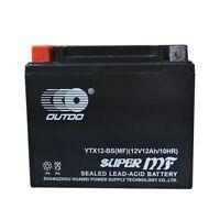 Ytx12-bs Battery Fit Honda Trx200 Atc125m Atc250es Atc250sx Trx250 Fl350r Vf750c