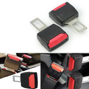 "2Pcs Universal Car Seat Seatbelt Safety Belt Clip Extender Extension 7//8/"" Buckle"
