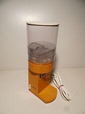 Krups Typ 221 Kaffeemühle orange Design 70er Portionierer Vintage Panton ära