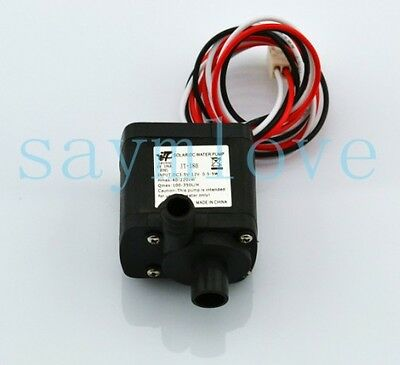 DC 12V 6W PUMP MOTOR FOR PC WATER COOLING SYSTEM WATER COOLED