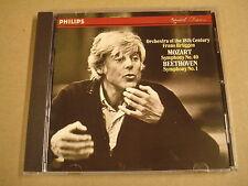 CD PHILIPS / MOZART & BEETHOVEN - SYMPHONIES / FRANS BRÜGGEN