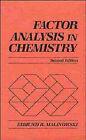 Factor Analysis in Chemistry by Edmund R. Malinowksi, Darryl G. Howery (Hardback, 1991)