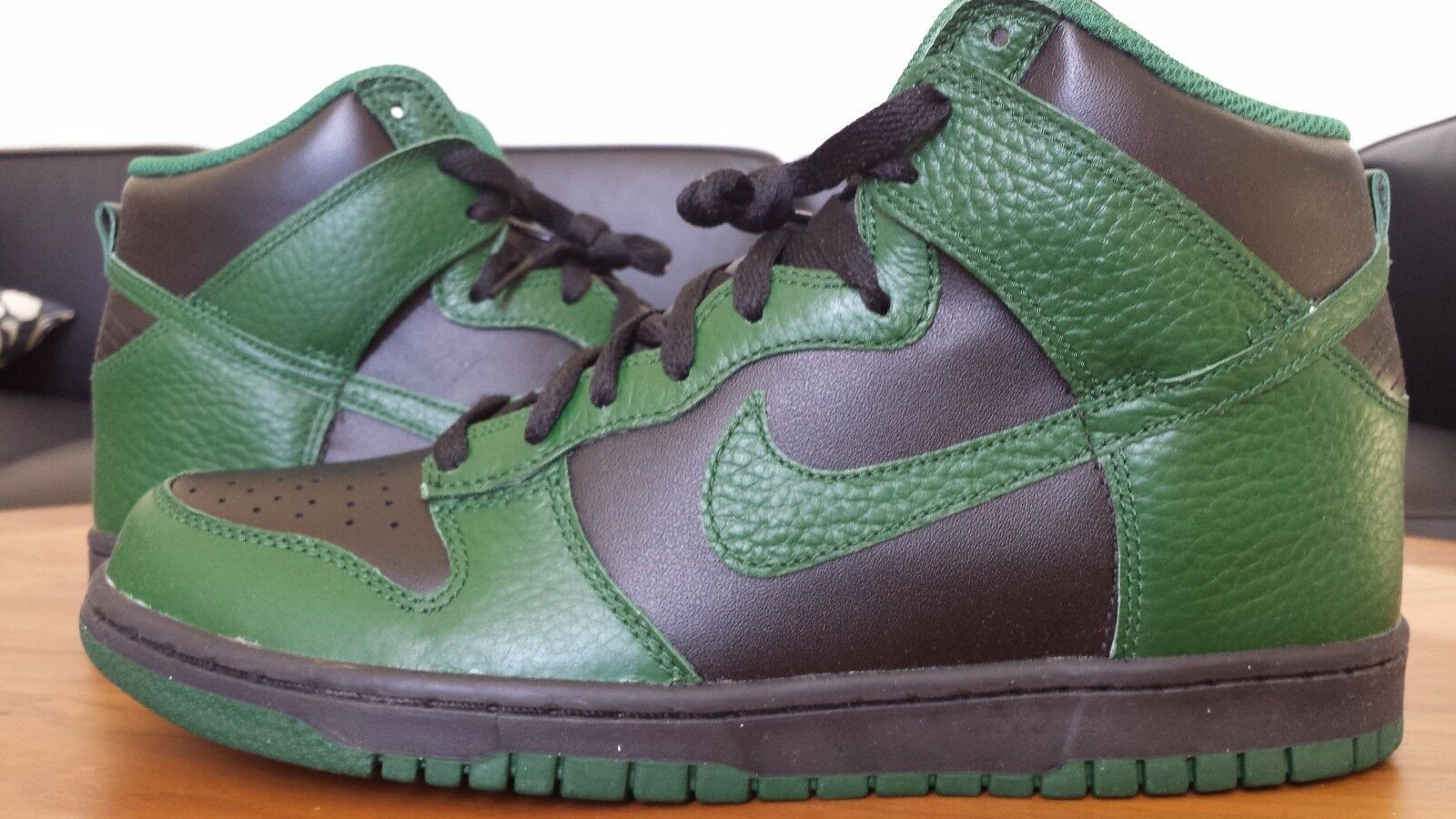 DS 2012 Nike Dunk High 317982-040 8.5