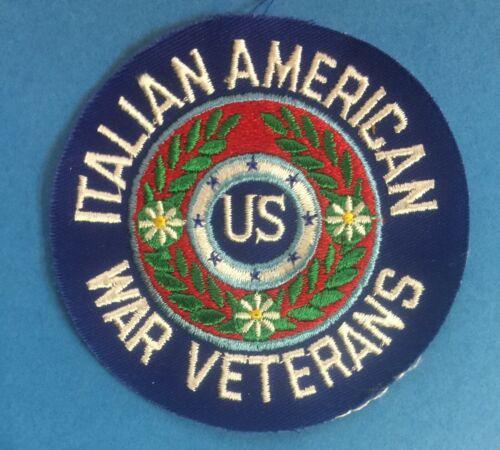 1960/'s Italian American War Veterans Hipster Jacket Patch 058T