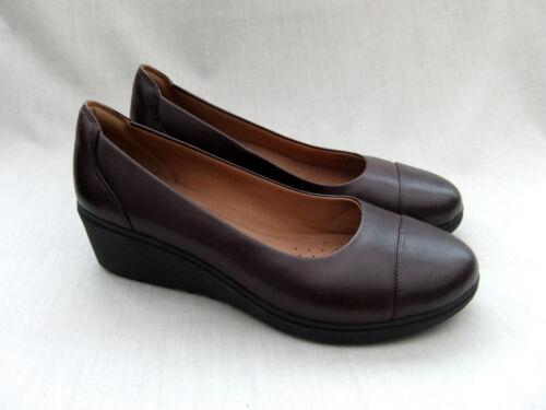 Dee Nuevo 5 Zapatos cuero Tallara 41 Unstructured Un 7 de 5 Clarks tamaño berenjena wSPrqS6xIW