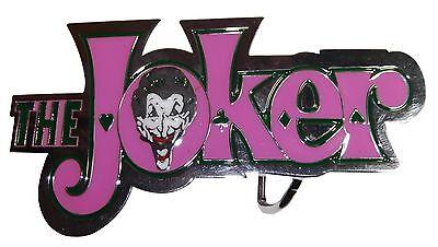 The Joker Batman White Color Enamel Metal Belt Buckle