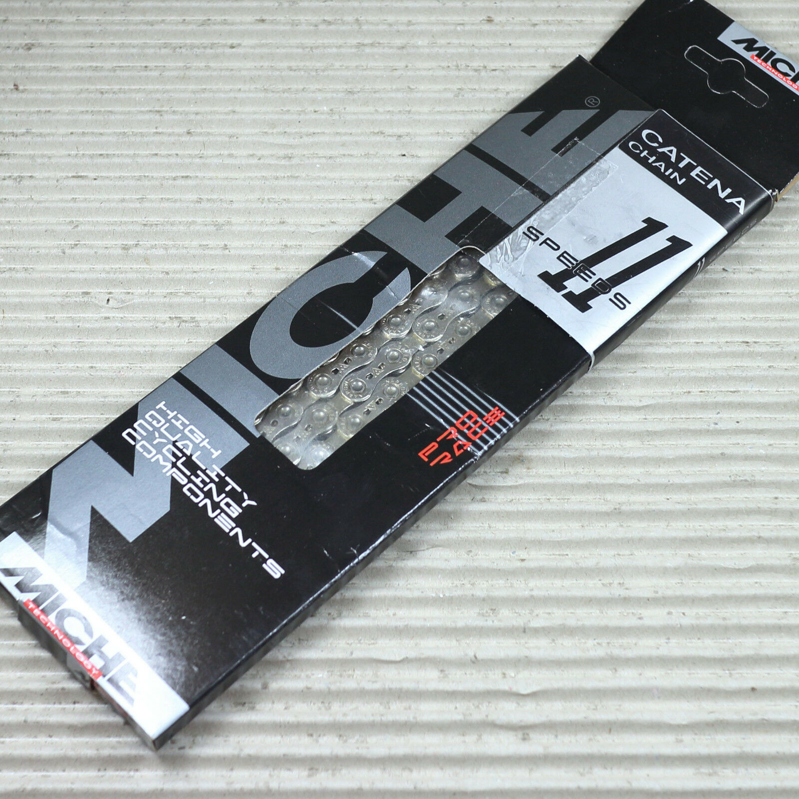 MICHE Catena 11 volte per Shimano e Campagnolo 12 x 332 116 anelli 5,50 mm