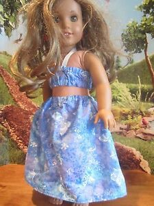 homemade-18-034-american-girl-madame-alexander-2-piece-LEA-dress-doll-clothes