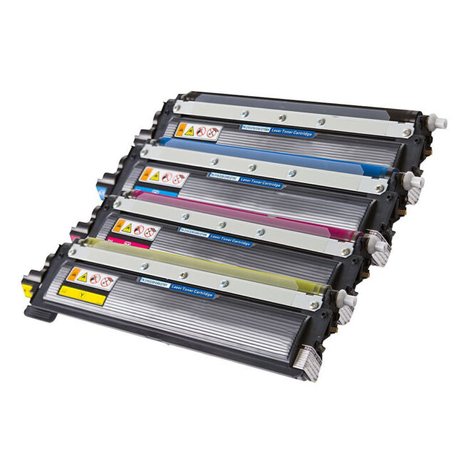 4 X TN-240 TN240 Toner Cartridge for Brother HL3040CN MFC9120CN (1BK1C1M1Y)