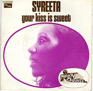 your kiss is sweet