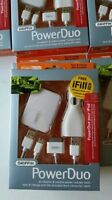 Griffin Powerduo Home & Car Charging Kit 4 Ipod 9756