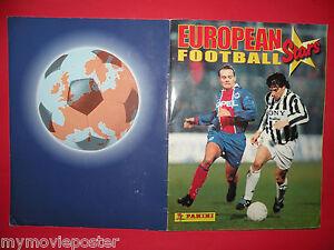 EURO FOOTBALL STARS 1997/98 SOCCER PANINI VERY RARE ALBUM 100% COMPLETE
