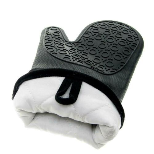 1 Pair Extra Long Professional Silicone Oven Mitts