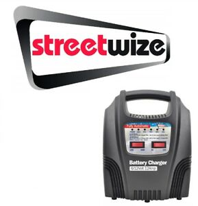 Details about Streetwize 612v 12 Amp Fully Automatic Car Battery Charger SWBCLED12
