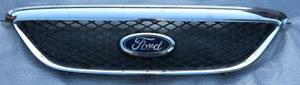 Ford-Fairmont-Futura-BA-BF-XT-XL-SR-front-bumper-bar-cover-GRILLE-mesh-CHROME