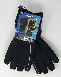 HOT-HEADZ-POLAREX-Battery-Powered-Heated-Ski-Gloves-Black-One-Size-Fits-Most