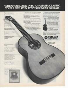 YAMAHA-G-255S-CLASSIC-GUITAR-MAGAZINE-PRINT-AD-SEE-WHY-ITS-YOUR-NEXT-GUITAR