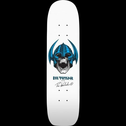 Powell Peralta BONES BRIGADE Per Welinder NORDIC SKULL Skateboard LIGHT BLUE