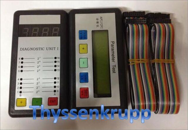Thyssenkrupp service tool MC2 test tool lift elevator free shipping