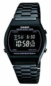 Casio-B-640WB-1B-Orologio-Vintage-Lampeggio-Display-Crono-Timer-Sveglia