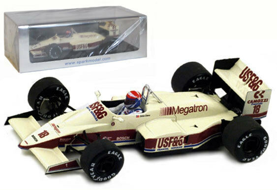 Spark S1797 Arrows A10 Monaco GP 1987 - Eddie Cheever 1 43 Scale