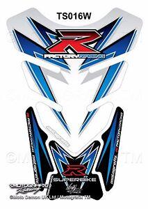 Suzuki GSXR 1000 2009-2015 Motorcycle Tank Pad Motografix 3D Gel Protector