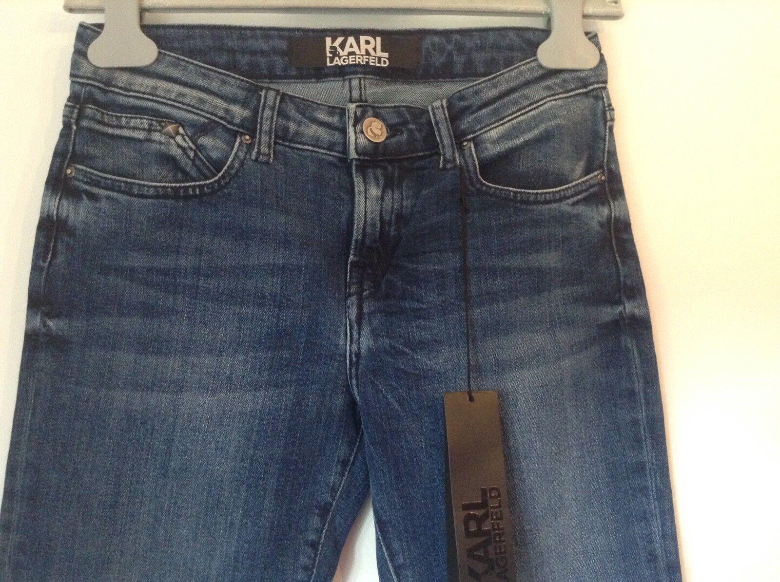 BNWT 100% auth Karl Lagerfeld Slim Fit   Skinny Amazing Jeans. 25 RRP